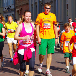 11th Danske Bank Vilnius Marathon - Vaida Budreikiene (11091), Mindaugas Zukauskas (12009), Irmantas Norkus (12779), Adomas Norkus (20695), Roberta Vencevičiūtė (30947)