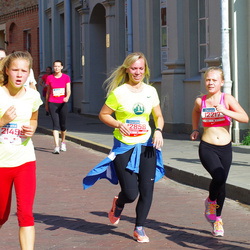 11th Danske Bank Vilnius Marathon - Adelina Erika Baranauskaite (12217), Simona Jukneviciute (12858), Meda Grebelyte (21499), Gintaras Pilkionis (30845)