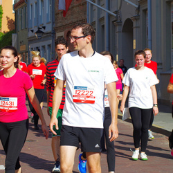 11th Danske Bank Vilnius Marathon - Lina Zalieckaite (12029), Arturas Didika (12222), Anastasia Didika (12431)