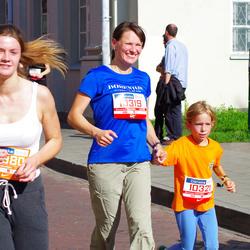 11th Danske Bank Vilnius Marathon - Jone Valciukiene (10319), Ula Valciukaite (10321)