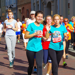 11th Danske Bank Vilnius Marathon - Rita Norviliene (10738), Jolanta Kurpickaja (11240), Ausrine Ciziene (11569)