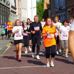 11th Danske Bank Vilnius Marathon - Giedrius Pauža (11583), Kotryna Mikneviciute (11804), Algimantas Miknevicius (12429), Eudokija Cernova (12781)