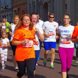 11th Danske Bank Vilnius Marathon - Arnoldas Ulozas (11552), Giedrius Pauža (11583), Vita Dvarionaite (11587), Gerda Šimkunaite (12185), Algimantas Miknevicius (12429)