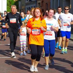 11th Danske Bank Vilnius Marathon - Arnoldas Ulozas (11552), Giedrius Pauža (11583), Gabija Stelmokiene (12184), Algimantas Miknevicius (12429)