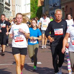 11th Danske Bank Vilnius Marathon - Kotryna Mikneviciute (11804), Algimantas Miknevicius (12429), Eudokija Cernova (12781), Julija Arbaciauskaite (21777)