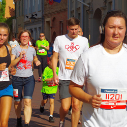 11th Danske Bank Vilnius Marathon - Amanda Puškyte (21710), Justas Šniaukšta (30080)