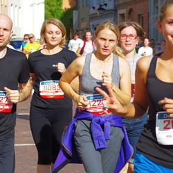 11th Danske Bank Vilnius Marathon - Sigita Ilgauskaite (11083), Karolina Kubiliene (12274), Darius Kubilius (12275)