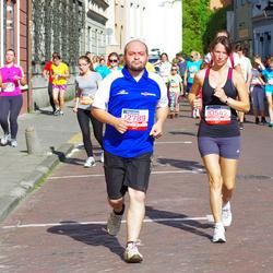 11th Danske Bank Vilnius Marathon - Marta Žitkute (10542), Maksimas Reznikovas (12789)