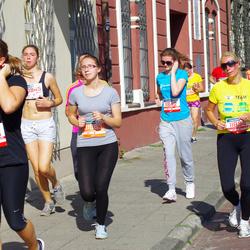 11th Danske Bank Vilnius Marathon - Birute Vaicikauskaite (11842), Egle Lasaite (11954), Ruta Jureviciute (31963)