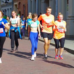 11th Danske Bank Vilnius Marathon - Tomas Rudzianec (10860), Viktorija Drobisevskaja (10890), Ugne Bartkute (12207)