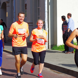 11th Danske Bank Vilnius Marathon - Tomas Rudzianec (10860), Viktorija Drobisevskaja (10890), Emilija Mežetyte (20411)