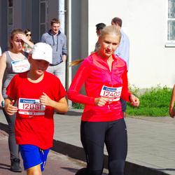 11th Danske Bank Vilnius Marathon - Justas Rimydis (12051), Neringa Rimydiene (12403)