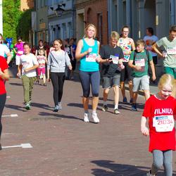 11th Danske Bank Vilnius Marathon - Dalia Kybartaite (12446), Paulius Kryževicius (20527), Rugile Danieliute (20698)