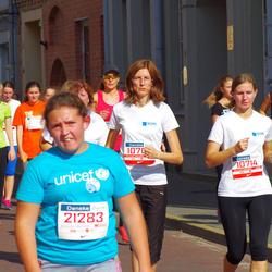 11th Danske Bank Vilnius Marathon - Genovaite Šaluckiene (10709), Valda Peištariene (10714), Renata Trijonyte (12485)