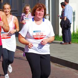 11th Danske Bank Vilnius Marathon - Gražina Binkauskiene (10711), Renata Trijonyte (12485)