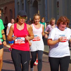 11th Danske Bank Vilnius Marathon - Gražina Binkauskiene (10711), Agne Zachareviciene (11415), Mindaugas Sapežinskas (12483), Renata Trijonyte (12485)