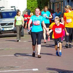 11th Danske Bank Vilnius Marathon - Rasteniene Gitana (12277), Rasa Petruniee (12676), Nedas Rastenis (21031)