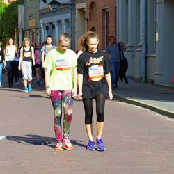 11th Danske Bank Vilnius Marathon - Liana Valentinovic (11609), Gabija Barbora-Ardzijauskaite (11610)