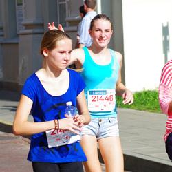 11th Danske Bank Vilnius Marathon - Enrika Pancekauskaite (21446), Austeja Vanagelyte (21447)