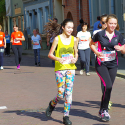 11th Danske Bank Vilnius Marathon - Aura Kvederait? (20366), Marija Venckute (20378)
