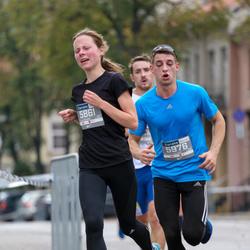 11th Danske Bank Vilnius Marathon - Jolita Tichonova (5861), Deividas Kaduškevicius (5976)