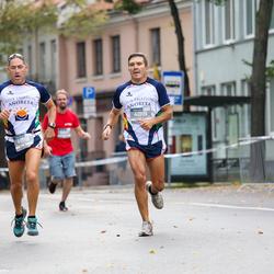 11th Danske Bank Vilnius Marathon - Rafael Merino (4918), Oscar Romero (4919)