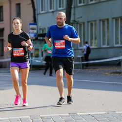 11th Danske Bank Vilnius Marathon - Kailey Skene (2570), Roberto Villa (2571)