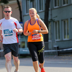 11th Danske Bank Vilnius Marathon - John O Carroll (547), Olivija Spelmane (2450)