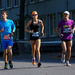 11th Danske Bank Vilnius Marathon - Anastasia Golovacheva (614), Pavel Altyshov (1042), Kirill Kharitoshin (2689)