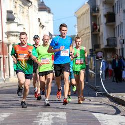 11th Danske Bank Vilnius Marathon - Modestas Gudauskas (11602), Aidas Barkauskas (12088), Konrad Kutyš (21108), Arnas Matulionis (30146)