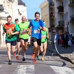 11th Danske Bank Vilnius Marathon - Aidas Barkauskas (12088), Konrad Kutyš (21108), Arnas Matulionis (30146)