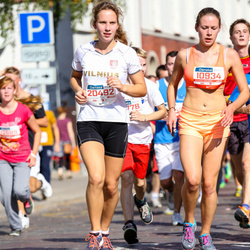 11th Danske Bank Vilnius Marathon - Silvija Janauskiene (10934), Aiste Meškelaite (20492)