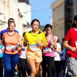11th Danske Bank Vilnius Marathon - Rasa Ramašauskiene (11412), Auguste Varnaite (20520)
