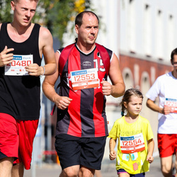11th Danske Bank Vilnius Marathon - Šarunas Stankevicius (12553), Medeine Stankeviciute (12554), Martynas Žabas (20480)