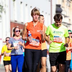 11th Danske Bank Vilnius Marathon - Elena Dambravaite (10394), Saulius Jarmalis (12782)