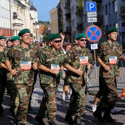 11th Danske Bank Vilnius Marathon - Karolis Urbelionis (12598), Robert Juodka (12601), Vaidotas Beniušis (12602), Gintas Balciunas (12605), Kostas Ivanauskas (12617)