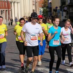 11th Danske Bank Vilnius Marathon - Rugile Albaviciute (11039), Andžej Okincic (11451), Egle Dvil (20778), Dominyka Vdovcenko (20998)