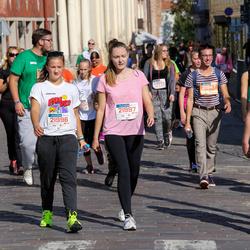 11th Danske Bank Vilnius Marathon - Virgilijus Matukas (21324), Kamile Grušnyte (21996), Karolina Stuperkaite (21997)
