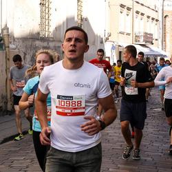 11th Danske Bank Vilnius Marathon - Saulius Andrušanecas (21411), Gustas Grigonis (21412)