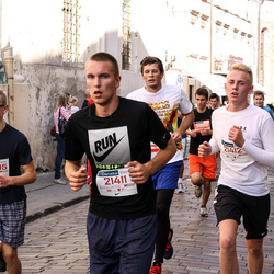 11th Danske Bank Vilnius Marathon - Žygimantas Rimgaila (20995), Saulius Andrušanecas (21411), Gustas Grigonis (21412)