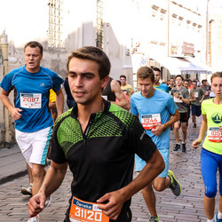 11th Danske Bank Vilnius Marathon - Gabriele Magelinskaite (10518), Povilas Diska (11244), Romuald Štura (21087)