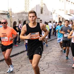 11th Danske Bank Vilnius Marathon - Artur Fridman (10846), Martynas Tamulevičius (30376), Karolina Razvinavičiūtė (30633)