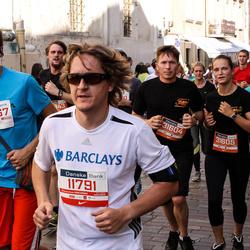 11th Danske Bank Vilnius Marathon - Paulius Šimkus (11791), Rosvaldas Sidinevskis (20567), Rimantas Balčius (31604), Jolanta Ūsaitė (31605)