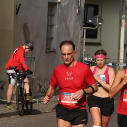 11th Danske Bank Vilnius Marathon - Sergejus Dvoriakovas (2605), Nadežda Roždestvenskaja (3809)