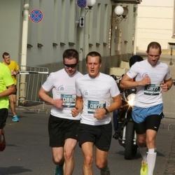 11th Danske Bank Vilnius Marathon - Algimantas Anilionis (877), Nerijus Krasko (878), Jevgenij Vasiljev (880)