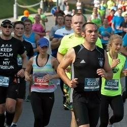 11th Danske Bank Vilnius Marathon - Michael Wilczek (297), Kamil Pawlak (439), Ieva Balinskaite (546), Agnese Skunstina (2928)