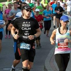 11th Danske Bank Vilnius Marathon - Kamil Pawlak (439), Agnese Skunstina (2928)