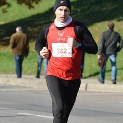 """Vilnius 10 km run, """"Run with Živilė Balčiūnaitė"""". - Darius Valatkevičius (282)"""