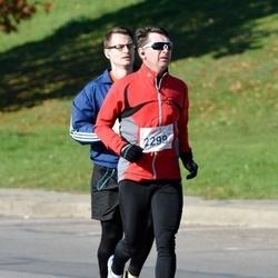 """Vilnius 10 km run, """"Run with Živilė Balčiūnaitė"""". - Genadijus Petrikas (2299)"""