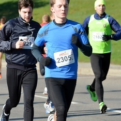 """Vilnius 10 km run, """"Run with Živilė Balčiūnaitė"""". - Laurynas Grikšas (2305)"""